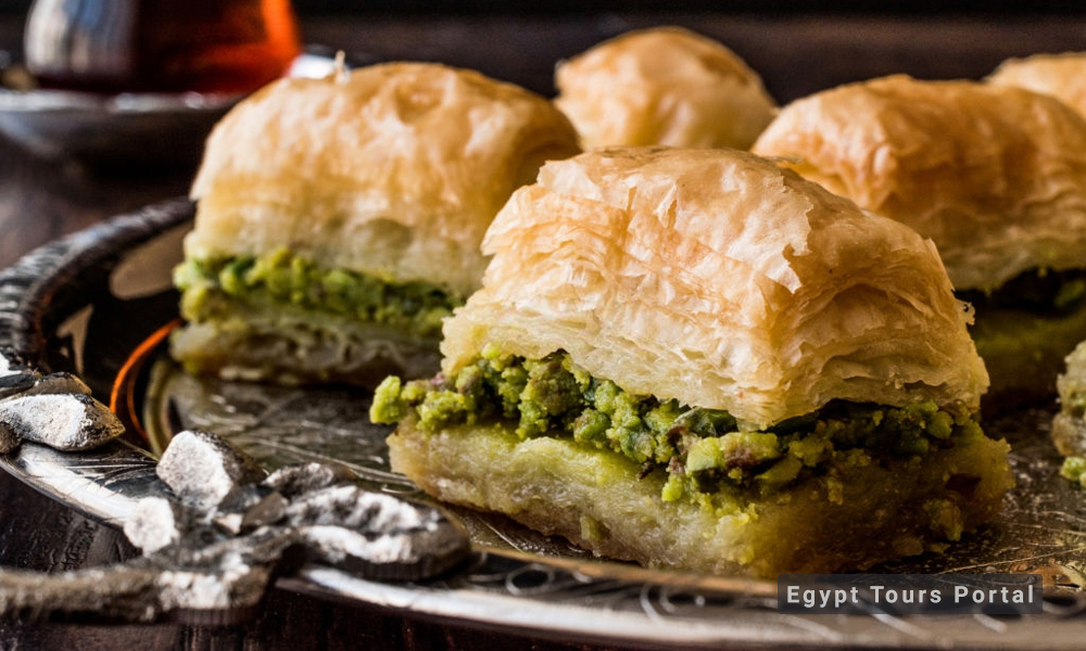 Baklava - Egyptian Food - Egypt Tours Porta