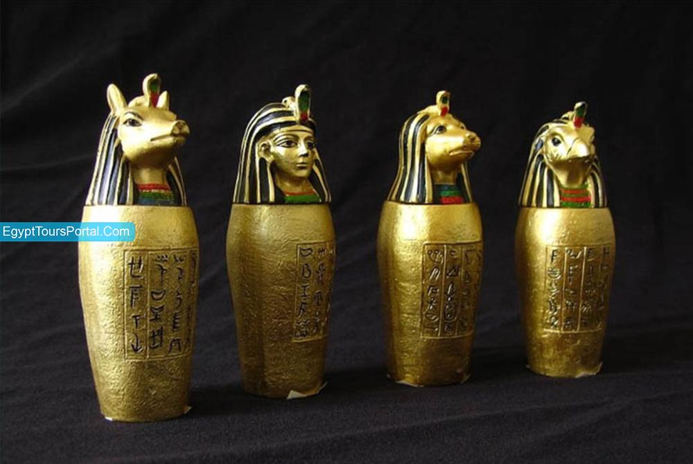 Canopic Jar - Ancient Egyptian Symbols - Egypt Tours Portal