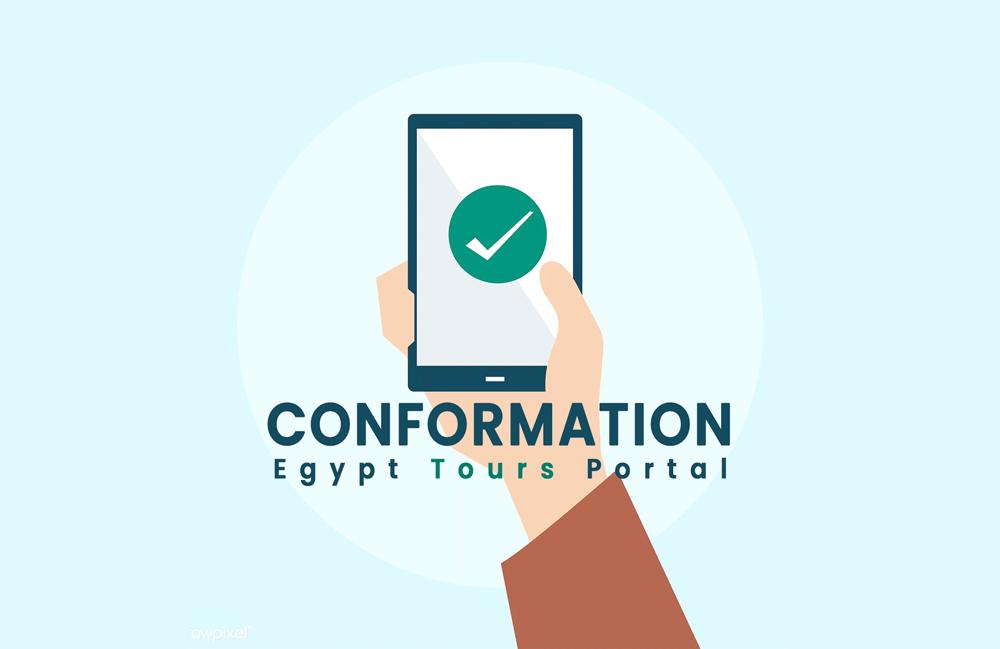 Conformation the Tour - Egypt Tours Portal