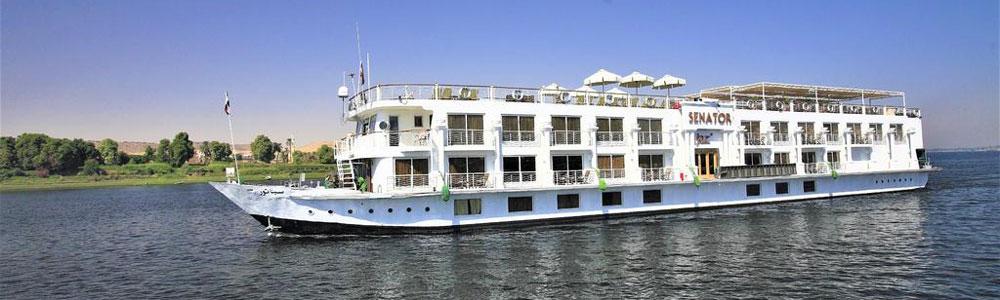 4 Days Jaz Senator Nile Cruise Itinerary