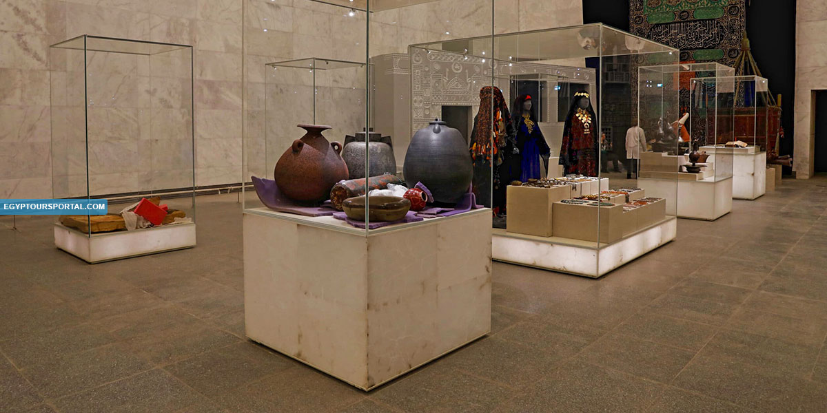 Art Exhibits Inside the National Museum of Egyptian Civilization - Egypt Tours Portal